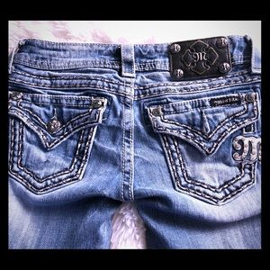 Gently Used Bootcut Miss Me Jeans